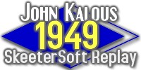 Baseball Statistics Scorekeeping Software takes you to - John Kalous' 1949 Skeetersoft Replay