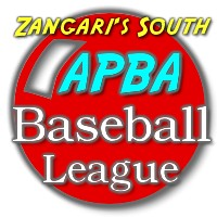 Baseball Statistics Scorekeeping Software takes you to - Zangari's APBA Baseball League